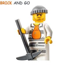 LEGO City Minifig Figurine CTY618 Prisonnier / Jail Prisoner 18675 NEUF NEW