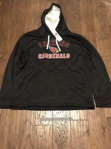 Arizona Cardinals NFL Authentic Team Hoodie Mens Sz.XL Retail $90 Jacket