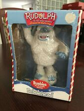Bumbles Abominable Snowman Bobble Head Rudolph Misfit Toys Collector Series 2001