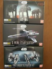Bandai Star Wars Tie Fighter AT-M6 and X-Wing Starfighter 3 packs