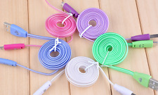 Multi Color Glow in the dark light up LED USB Data Sync Cable charger iPhone
