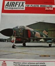 Airfix Magazine 1970 April F-4 Phantom,F-82 Twin Mustang,HMS Blake,Hawker Hart