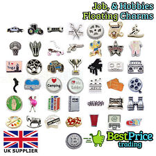 BEST QUALITY Floating Charm For Living Memory Locket JOB HOBBY *WEDDING FAVOURS