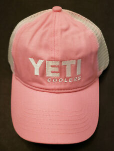 YETI Coolers Pink Hat Discontinued