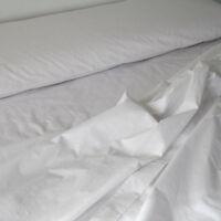 sabana hosteleria blanca 50 algodon 50 poliester 90 - 135 - 150 - 180 bed