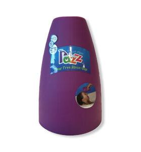 NEW RAZZ Tub Time Baby Toddler Kid Bath Tear Free Soft Rinse Cup BPA Free Purple
