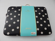 Kate Spade Genuine Printed Laptop Sleeve For Surface Pro 3/4 & other Laptop Blk