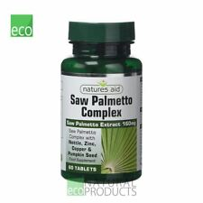 Natures Aid Saw Palmetto Complex with Nettle 60 Tablets
