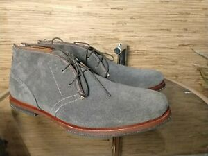 Timberland Boot Wodehouse Lost History Chukka Forged Iron Gray Suede Mens 10 M