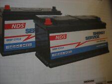 "BATTERIA ""NDS"" ENERGY X SERVIZI SCARICA LENTA CARAVAN / CAMPER & NAUTICA"