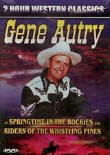 New - Gene Autry - Riders Of The Whistling Pines & Springtime In The Rockies DVD