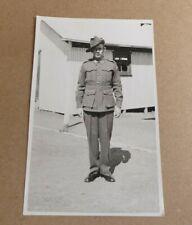 WW11 AIF AUSTRALIAN PHOTO POSTCARD  GUNNER SX11081 2/14TH AUST FIELD REGIMENT
