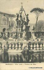 BAGNAIA - Villa Lante - Fontana dei Mori - 1914