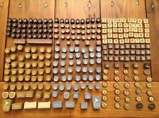 Vintage Box Lot of Typewriter and Adding Machine Keys For Crafts or Jewelry