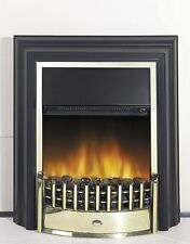 Electric Fire Stove Heater Black Coal Effect Freestanding Fire Place All Rooms