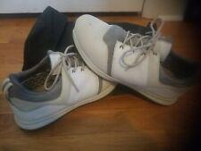 True Linkswear Major Golf Shoes Size 10.5 White w/ Shoe Bag