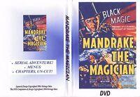 mandrake the magician. CLIFFHANGER SERIALS ..complete