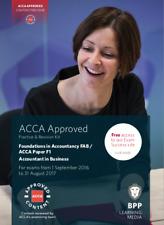 ACCA BPP Revision Kit F1,F2,F3,F4,F5,F6,F7,F8,F9,P1,P2,P3,P4,P5,P6,P7(2016-17)