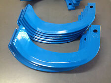 New 20 x rotary hoe blades for Japanese type rotary tillers, Kubota, Yanmar etc.