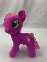 "Hasbro My Little Pony Cheerlie Purple Flower Plush Stuffed Animal 5"" 2013"