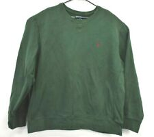 Polo by Ralph Lauren Men's XXL Pullover Crew Neck Long Sleeve Sweater Dark Green