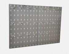 Werkzeugwand Lochwand Werkstattwand Werkstatt 80 x 58 x 1 cm mit 20 Haken Metall