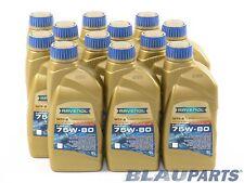 RAVENOL MANUAL TRANSMISSION FLUID MTF-2 75W-80 GL-4 1L, Case of 12