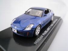 Nissan 370z z34 fair lady Z nismo negro a partir de 2008 1//43 Kyosho modelo coche con o..