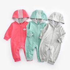 Top Bebê Crianças Meninos E Meninas Macacão Jardineira Infantil Conjunto Roupa Macacão de algodão 0-18M