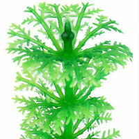 32cm Stunning Green Artificial Grass Water Plant Fish Decor Tank Aquarium Z8X4
