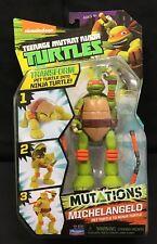Teenage Mutant Ninja Turtles Mutations Michelangelo Pet Turtle to Ninja 91523