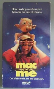 1989 VHS Tape Mac and Me Space Alien Jonathan Ward