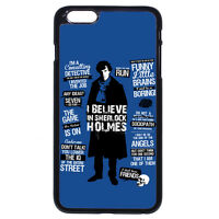 I BELIEVE IN SHERLOCK HOLMES For iPhone 5 5S 5C 6/6S 7 8 Plus X iPod 4 5 6 Case