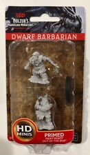 DWARF BARBARIAN Nolzur's marvelous miniatures NEW wizkids DUNGEONS AND DRAGONS