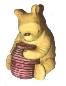 Retired/Vtg Classic Winnie the Pooh Charpente Porcelain/Ceramic Bank