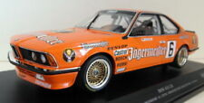 Voitures de courses miniatures orange MINICHAMPS en résine