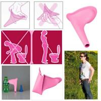 Women Portable Urinal Urination Device Outdoor Travel Camping Stand Up Pee Cup