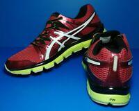 Asics Gel Blur33  T2H3N Red Yellow Men's Running Shoes Size US 12 EUR 46.5