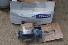 Leeson 1.5 HP Electric Motor 1 PH 115 V 1725/1425 RPM 56Y Frame C6K17DK4A CAT NO