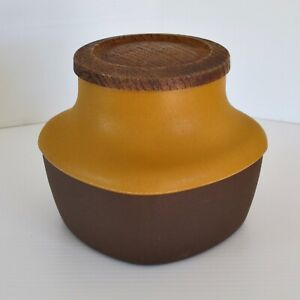 BX 'Casa' Medium Canister in Tan & Brown, Melbourne c.1970s