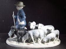 RPM Bavaria W Germany Royal Porzellan Manufaktur SHEPHARD WITH SHEEP #7023