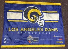 NFL LA Rams - London Wembley 2019 Game Day Flag - #Ramshouse