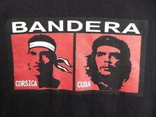 T-Shirts - Bandera Corsica Cuba - Che Guevara T-Shirt Black XXL