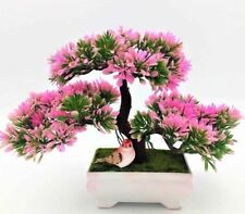 Pine Bonsai Artificial Flowers And Wreaths Welcoming Pot Plants Home Decorations