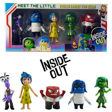 Disney Inside Out Action Figure Kids Display Figurines Set Cake Topper Decor Toy