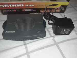 modem fax esterno 56k asuscom