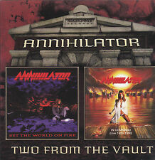 Annihilator-Set the World on Fire/In Command: Live 1989-1990 (CD, 2004) Metal!
