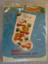Rare Titan Animals on Wheels Pull Toy Christmas Stocking Kit
