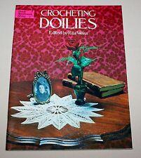 Crocheting Doilies Dover Needlework Series Rita Weiss 1976 Pattern Booklet