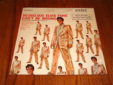 ELVIS PRESLEY 50,000,000 Elvis Fans  Can't Be Wrong LP